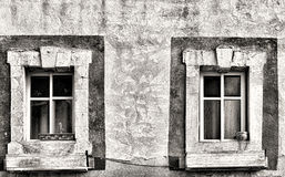 Израиль старое Windows Стоковое Изображение