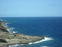 Изрезанная береговая линия Стоковое фото RF