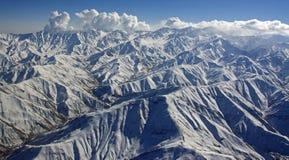 Изрезанная горная цепь Афганистана стоковые изображения rf