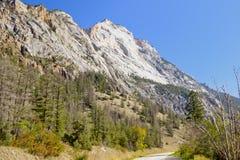 Изрезанные пики горы песчаника Стоковое Фото