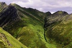 Изрезанные холмы Стоковое Изображение