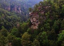 Изрезанный ландшафт Стоковые Фотографии RF