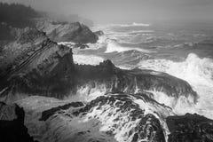 Изрезанный берег Стоковое фото RF
