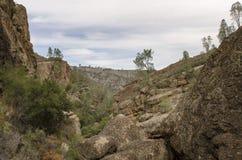 Изрезанный западный ландшафт горы Стоковые Фотографии RF