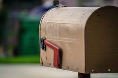 Изрезанный почтовый ящик Стоковые Изображения RF