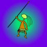 Изуверская иллюстрация вектора искусства шипучки Стоковые Фото