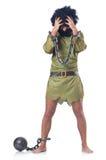 Изуверский изолированный человек Стоковое Фото