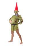 Изуверский изолированный человек Стоковая Фотография RF