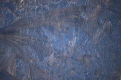 Изумительная картина зимы на окнах Стоковые Изображения