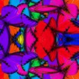 Изумительная предпосылка сделанная причудливых buterflies альбатроса шоколада стоковые изображения rf