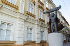 Изумительная статуя Стоковая Фотография