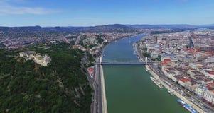 Изумительная съемка от города Будапешта Стоковая Фотография RF