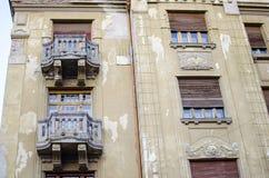 Изумительное винтажное здание Стоковое Фото