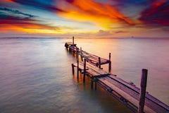Изумительное небо восхода солнца Стоковые Фото
