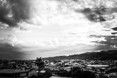 Изумительное небо в эквадоре стоковая фотография
