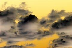 изумительное небо предпосылки Стоковое Фото