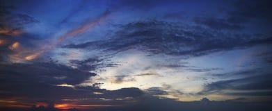 изумительное небо Стоковое Изображение RF