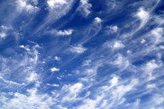 изумительное небо стоковая фотография rf