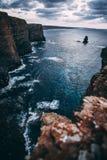 Изумительные места на Arrifana Стоковое Изображение