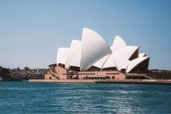 Изумительный вид с воздуха оперного театра Сиднея Стоковая Фотография RF