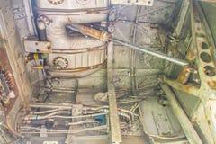 Изумительный воздушнореактивный двигатель или дактированный реактивный двигатель, английский язык двигателя Стоковые Фото