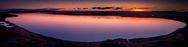 Изумительный восход солнца пляжа Стоковые Фото