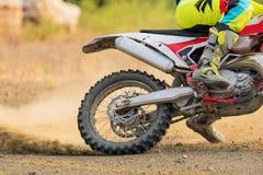 Изумительный всадник Motocross стоковое фото