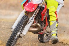 Изумительный всадник Motocross стоковые фото