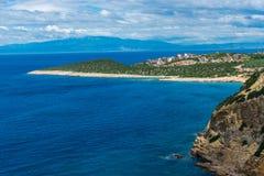 Изумительный ландшафт на море стоковые фото