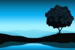 изумительный ландшафт Стоковое Изображение RF