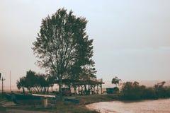 Изумительный парк в kalamaria Стоковые Изображения