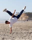 изумительный handstand Стоковые Изображения