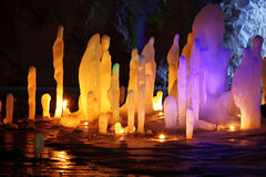 изумительный stalagmite Стоковые Изображения RF