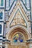 изумительн del базилики детализировало наземный ориентир maria florence fiore di экстерьера известный большинств ноча santa стоковое изображение
