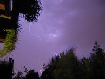 Изумительная молния Стоковые Фото