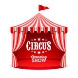 Изумительная предпосылка плаката выставки цирка иллюстрация штока