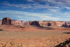 Изумительная сцена долины памятника в Юте, Соединенных Штатах Стоковое Изображение RF