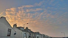 Изумительное небо вечера Стоковые Изображения