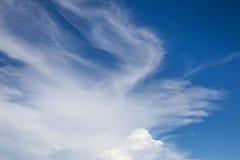 Изумительное облако с небом Стоковая Фотография RF