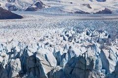 Изумительное Perito Moreno glaciar. Стоковая Фотография