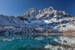 Изумительно красивая гималайская горная цепь Стоковые Фотографии RF