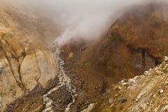 Изумительные взгляды вулканического ландшафта стоковое фото rf