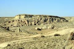 Изумительные геологохимические характеристики в Cappadocia стоковое фото rf