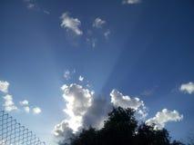 Изумительные облака неба Стоковые Изображения RF