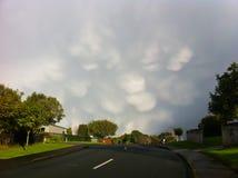 Изумительные облака Стоковые Изображения RF