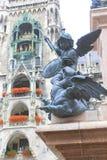 Изумительные памятники города Мюнхена Стоковые Фото