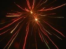 Изумительные фейерверки Стоковое Изображение RF