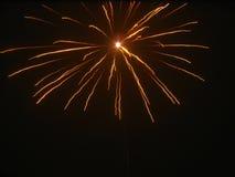 Изумительные фейерверки Стоковая Фотография RF