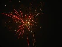 Изумительные фейерверки Стоковая Фотография