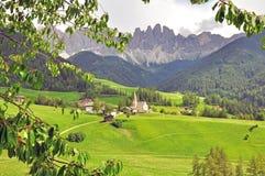 Изумительный ландшафт в итальянке Альпах Стоковое Фото